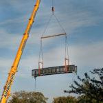 ECS Recycled Plastic Footbridge Rickmansworth pic1
