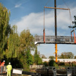 ECS Recycled Plastic Footbridge Rickmansworth pic2