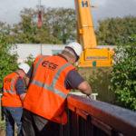 ECS Recycled Plastic Footbridge Rickmansworth pic3