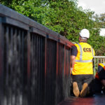 ECS Recycled Plastic Footbridge Rickmansworth pic4
