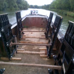 ECS delivers new weir gates for refurbishment of historic EA site