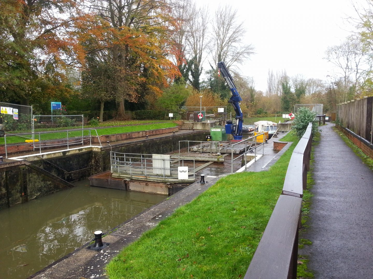 Romney Lock Gate