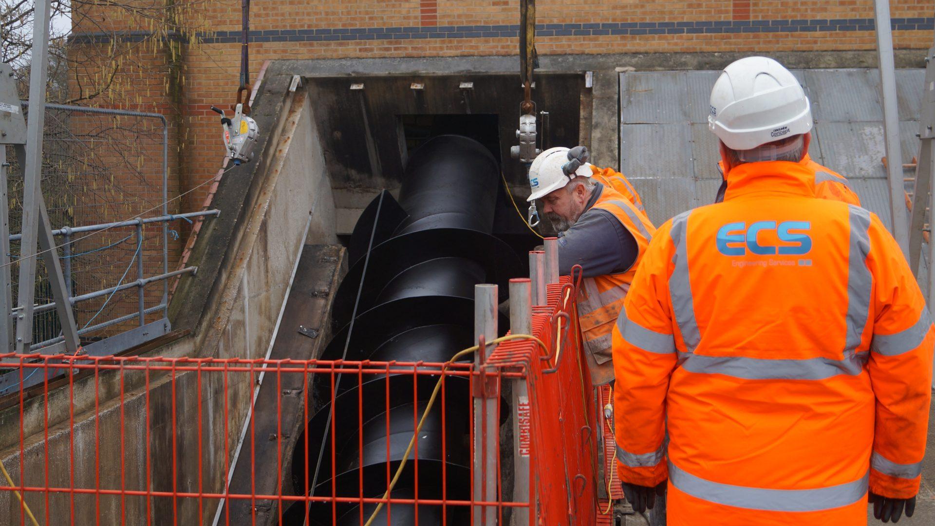 Archimedes Screw Pumps - ECS Engineering Services