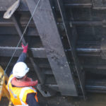 ECS installs one of the UK's first adjustable stop logs at Peakirk Pumping Station
